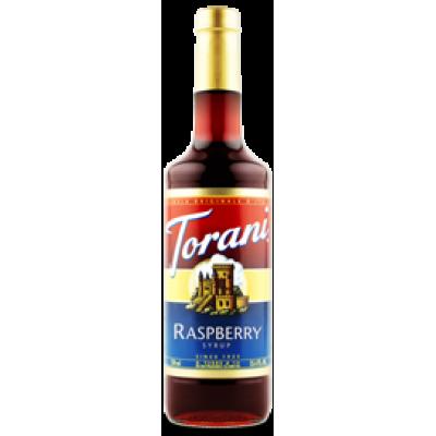 Torani sirop de Framboise.